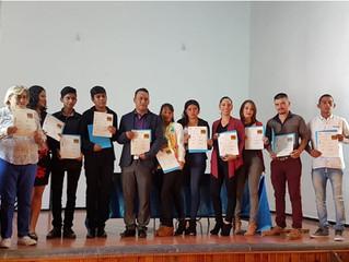Entrega de Certificados en SLP, a dar el siguiente paso chicos, felicidades¡¡¡