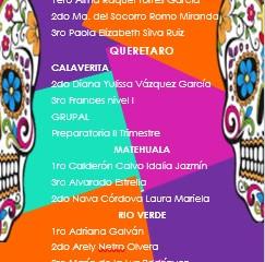 GANADORES CONCURSO DE CALAVERITAS!!