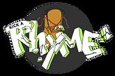 Kick a Rhyme logo, KR, Cipher, Cypher, Rap, Freestyle,
