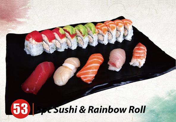 53.5pc Sushi $ Rainbow Roll.jpg