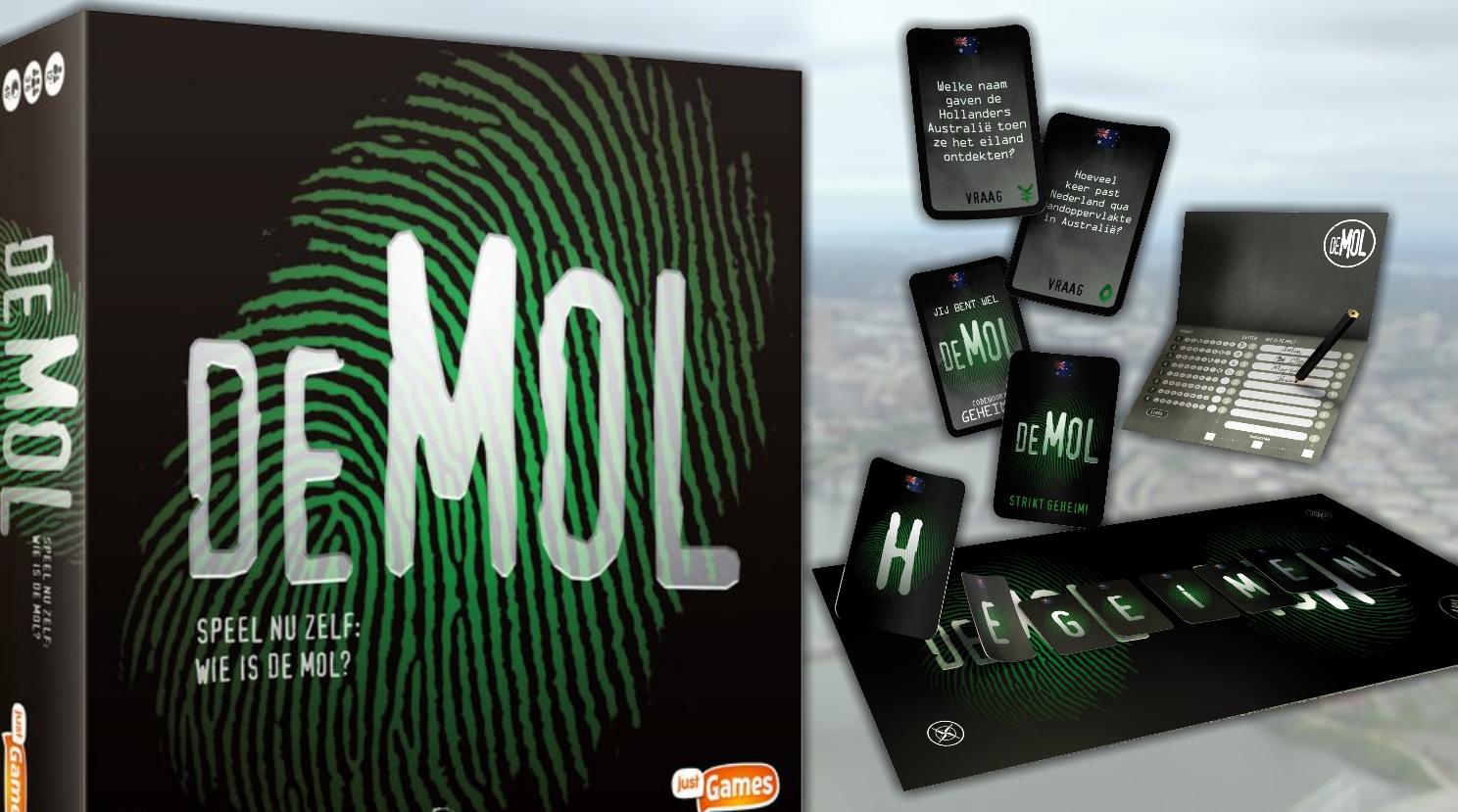Wie is de Mol?-bordspel