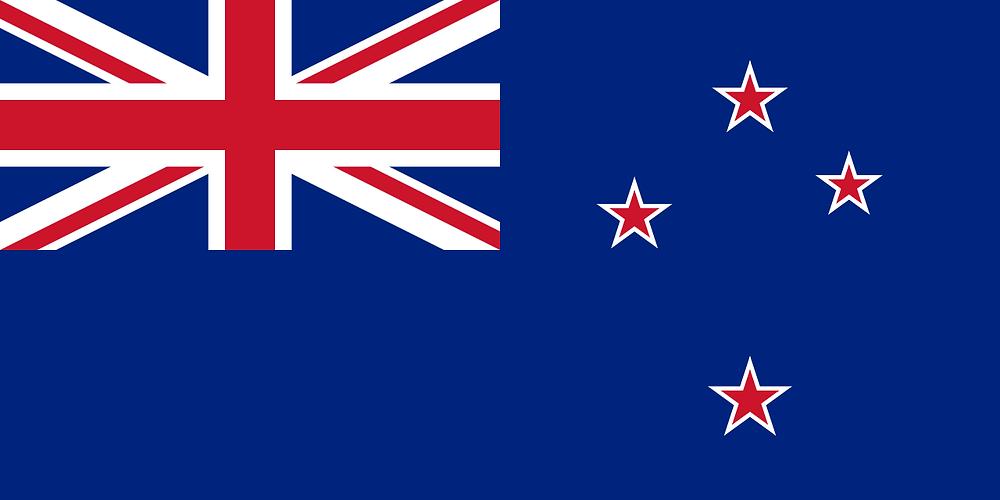 De vlag van Nieuw-Zeeland