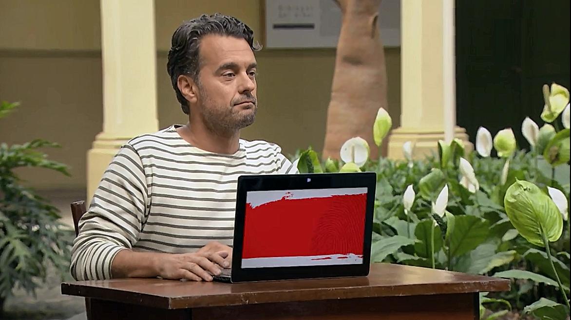 Rood scherm