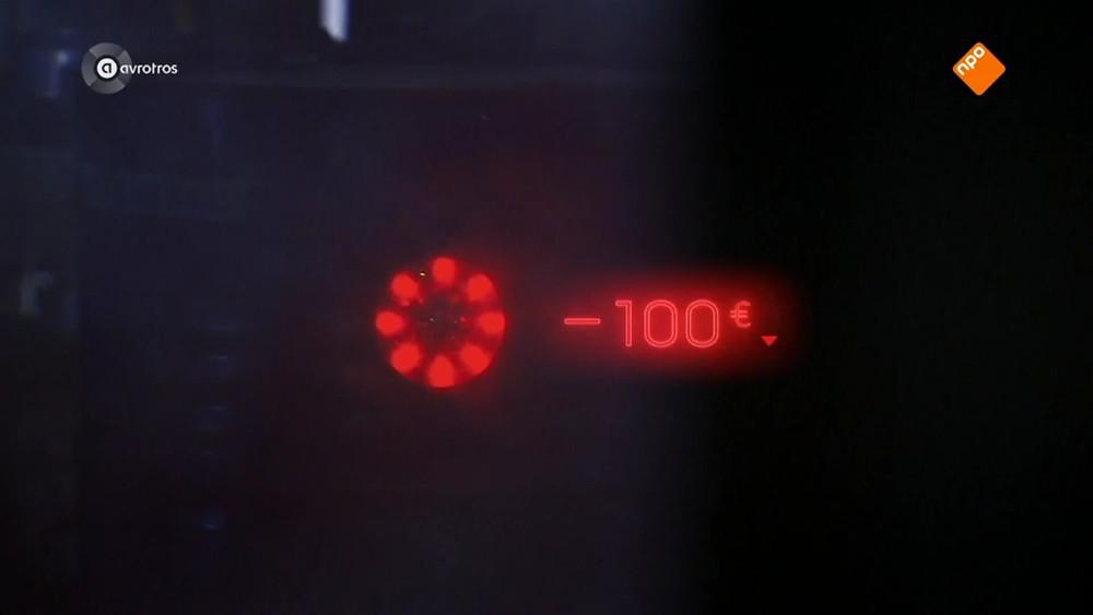 -€100,-