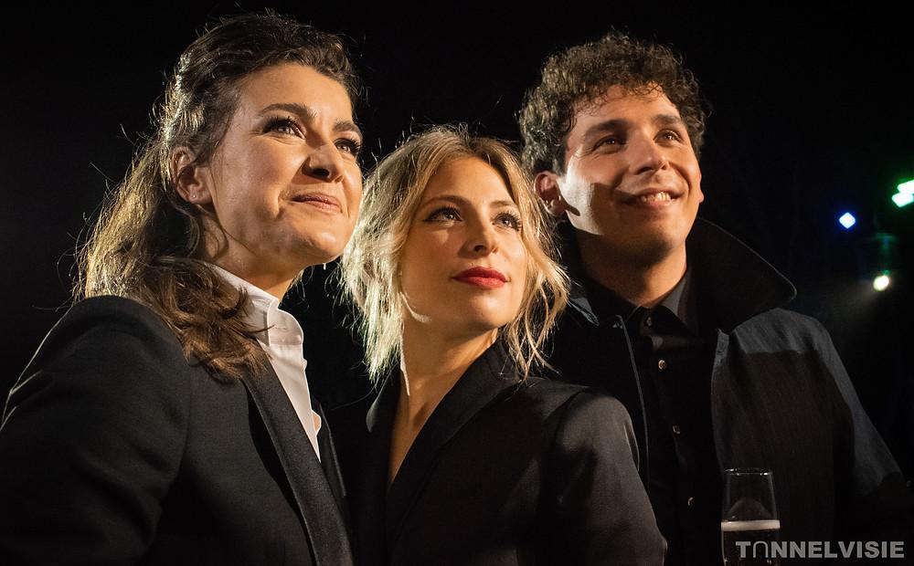 Merel, Sarah en Niels