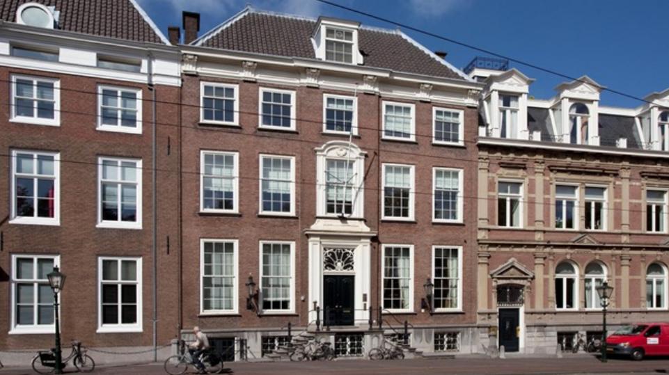 De Georgische ambassade in Den Haag