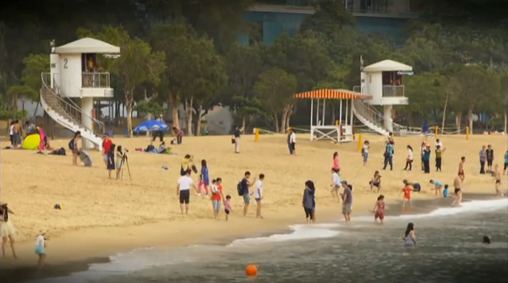 Strand van Hongkong