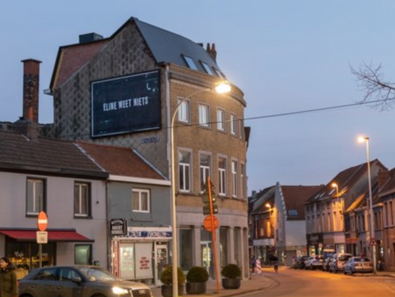 Mysterieuze affiches over De Mol in Vlaanderen