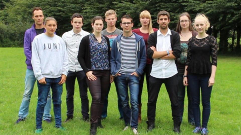Groepsfoto Wie is de Mol? Inc. Roosendaal