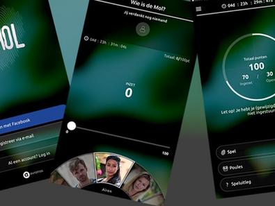 Wie is de Mol?-app plat door drukte