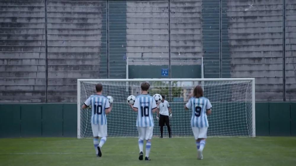 De voetbalopdracht