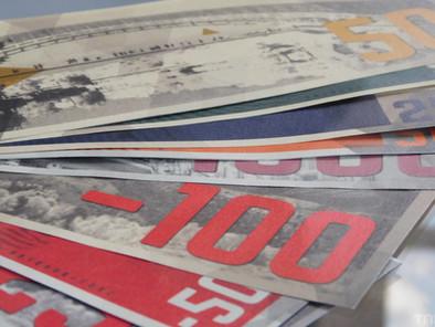 Wie is de Mol? vraagt fans om nieuwe geldbriefjes te ontwerpen