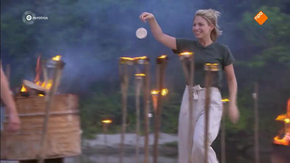 Sarah bij de vuurproef