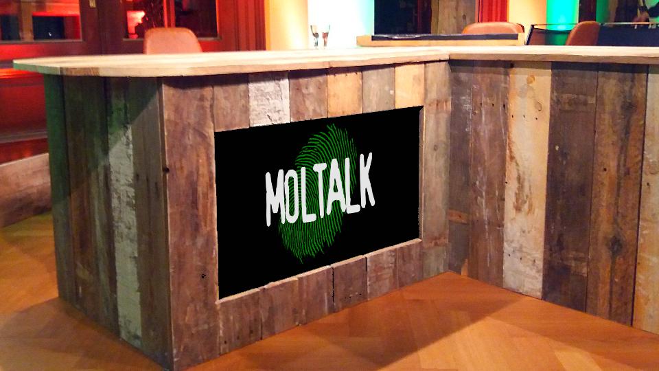 Desk van MolTalk