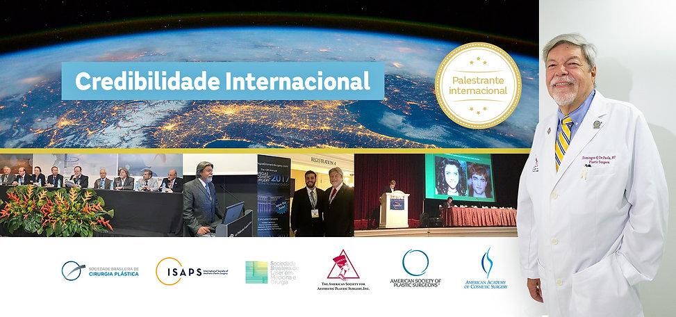 Credibilidade internacional Domingos De Paola