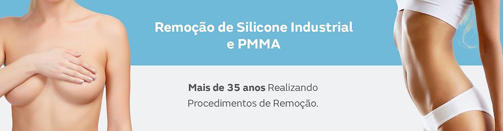 Remoção de Silicone Industrial e PMMA