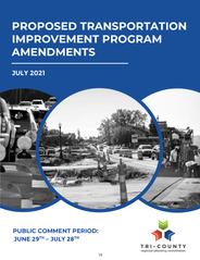 July 2021 TIP Proposed Amendments