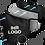 """Thumbnail: Mund-Nasenmaske """"SKY"""" mit Ihrem Logo (Textil Community-Maske)"""