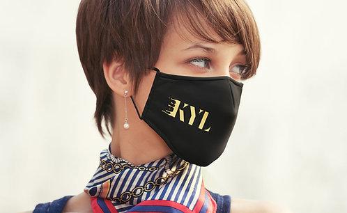 """Mund-Nasenmaske """"SKY"""" mit Ihrem Logo (Textil Community-Maske)"""