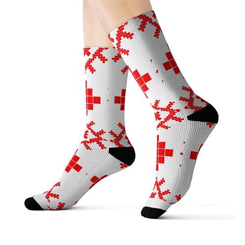Slavic Symbol Socks