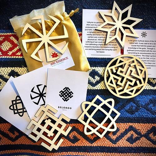 Slavic Wooden Ornaments