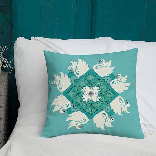 Lada Swan Pillow