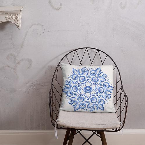 Slavic Print Pillow