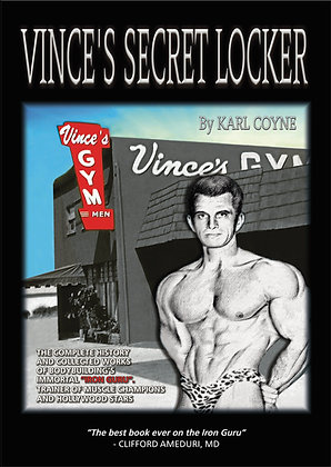Vince's Secret Locker Original Volume 1 hardcover