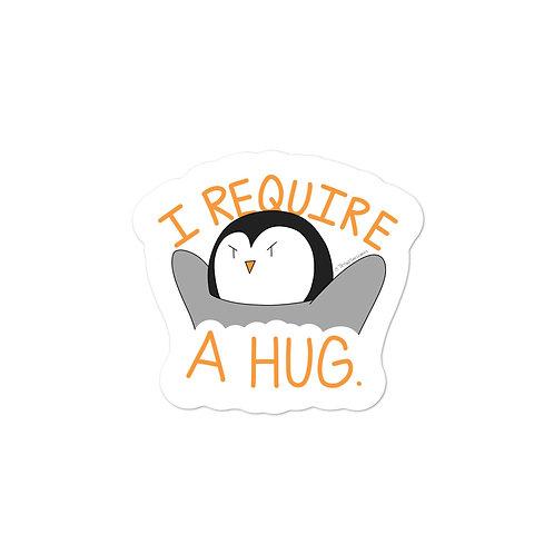 Hug Required - Sticker