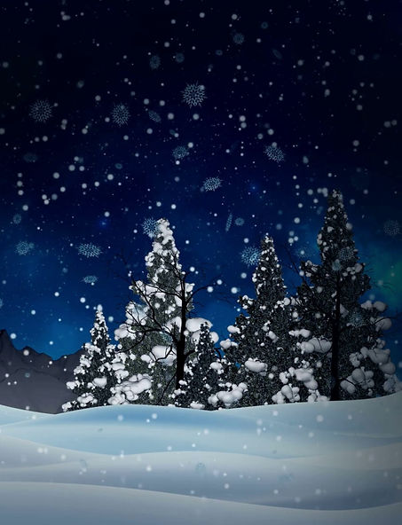 seamless-animation-white-snowy-and-snow-