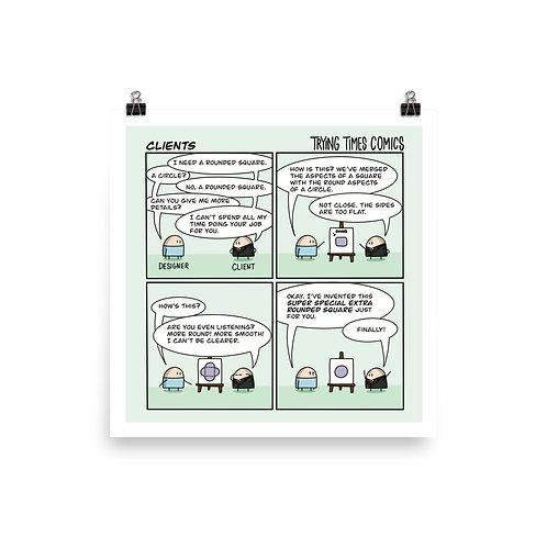Designer + Client - Print