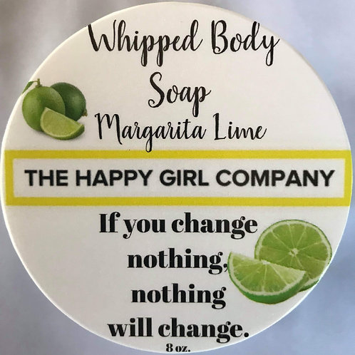 Margarita Lime Whipped Body Soap