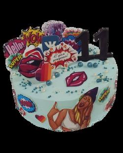 Девочке 11 лет, день рождения