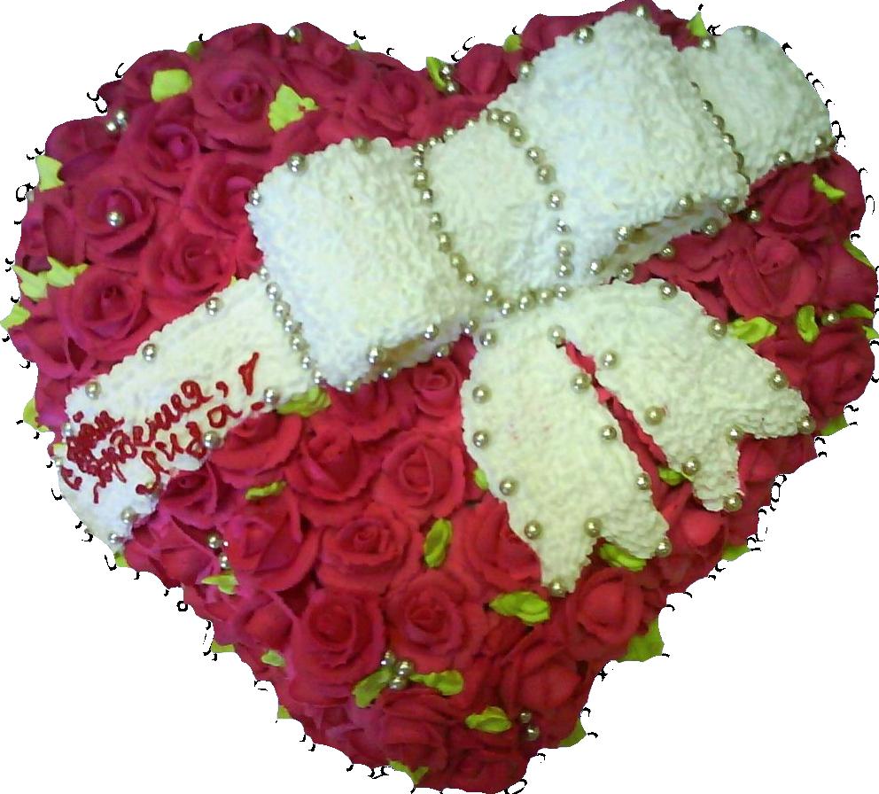 Сердце в розах