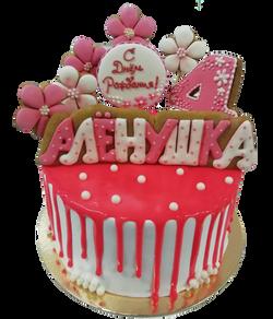 Именной торт на День рождения