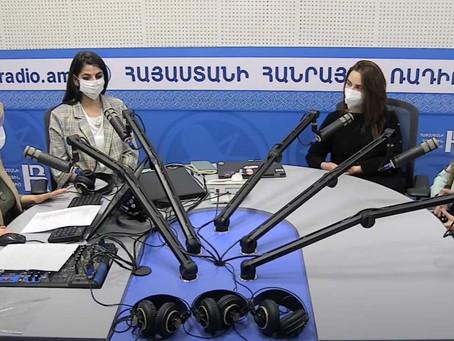 ՄԻՀԿ-ի փորձագիտական թիմը՝ Հանրային ռադիոյի տաղավարում