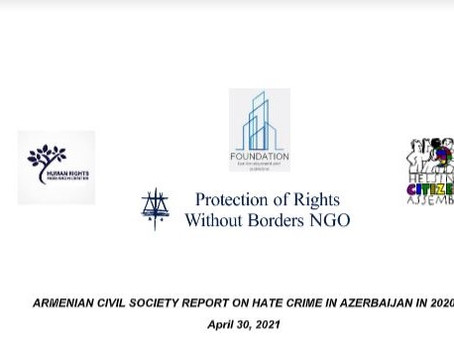 Civil Society Report on Xenophobia in Azerbaijan and Submission on Hate Crime in Azerbaijan