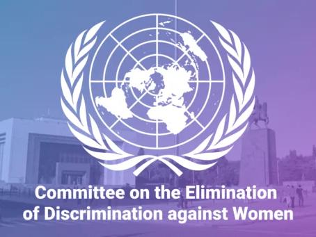 Գրության ներկայացում ՄԱԿ-ի Կանանց նկատմամբ խտրականության վերացման կոմիտեին
