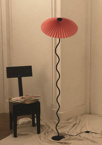 Lampada Cappello (da terra) - Corallo