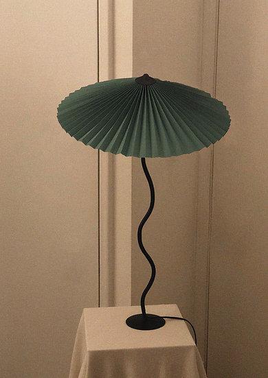 Lampada Cappello (più grande) - Verde