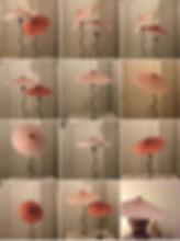 Oscar Piccolo Lampada Cappello mosaico (