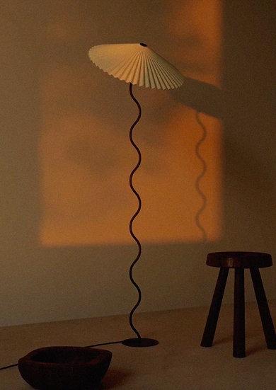 Lampada Cappello (da terra) - Riso Bianco