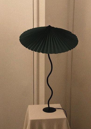 Lampada Cappello (più grande) - Verde Scuro
