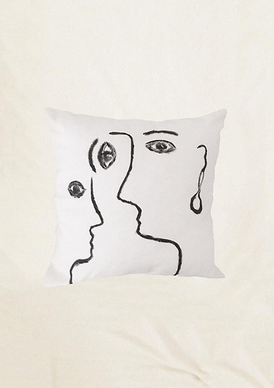 Portrait cushion
