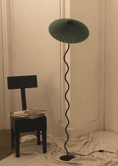 Lampada Cappello (da terra) - Verde