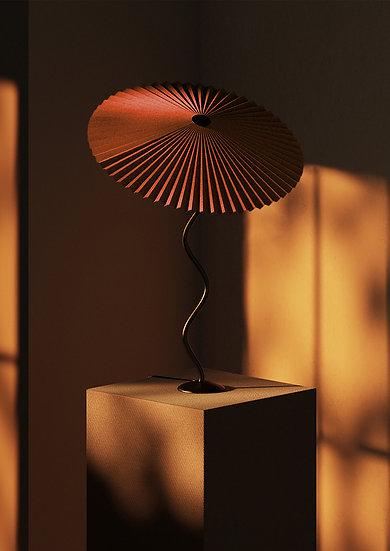 Lampada Cappello (classica) - Mattone