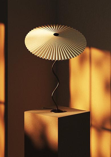 Lampada Cappello (classica) - Riso Bianco