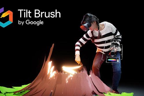 Innov4Events I Animation Réalité Virtuelle I Google Tilt Brush - 1