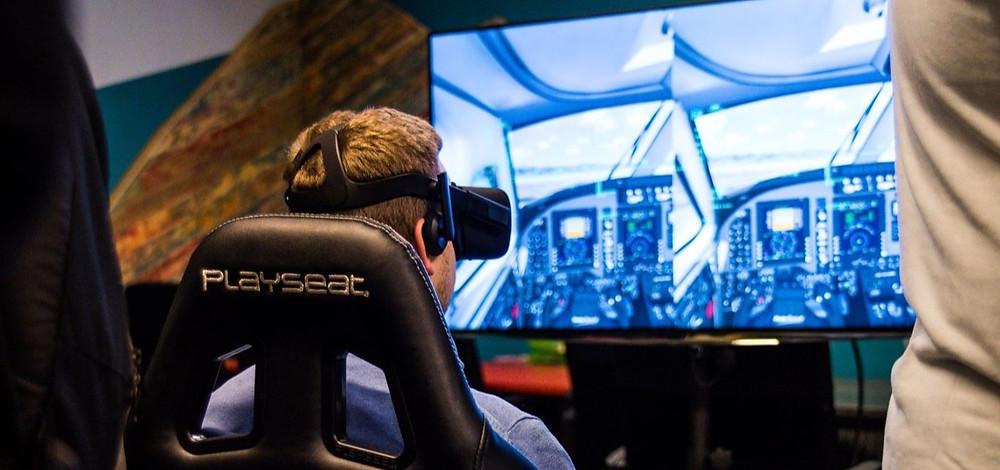 Innov4Events - Simulateur de vol pour votre événement - Flight Simulator 2020