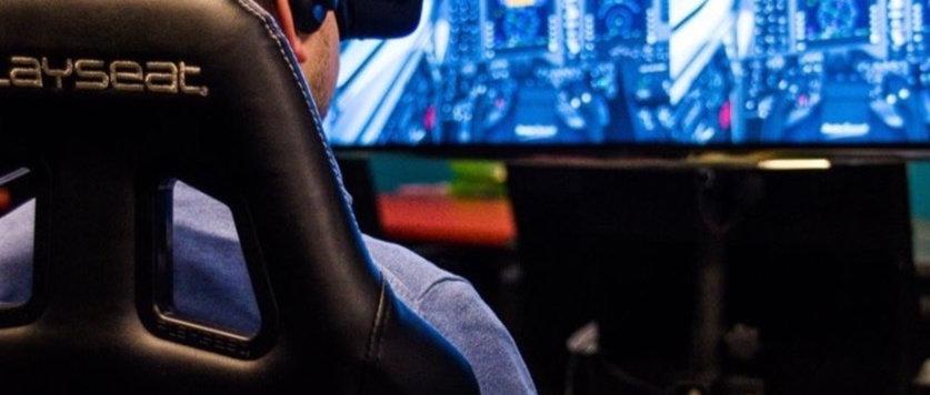 Vliegtuig Flight Simulator